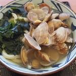 丸亀製麺 - あさりうどん(並) 590円