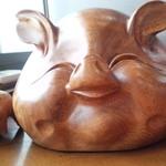かつみや - 豚さんの置物