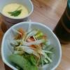 たか寿司 - 料理写真:サラダ・茶碗蒸し。