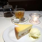バワリー・キッチン - リンゴ入りチーズ・ケーキ