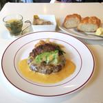 バワリー・キッチン - ランチのハンバーグ