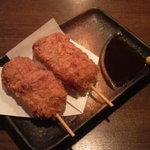 鷹番ゴールデン酒場 - まぐろの串カツ