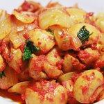 パーズ クズィン - マッシュルームのガーリックオイル煮(ナンにオイルを浸けると○)
