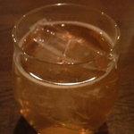 鷹番ゴールデン酒場 - 猫また梅酒(ソーダ割り)