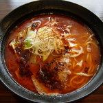 麺神 まるよし - 辣醤(らあじゃん)麺 700円