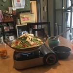 ひと手間キッチン ここち - かすもつ鍋ランチ