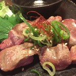 チキン野郎 - 白肝の炙り