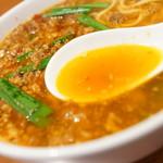 味仙 - スープ