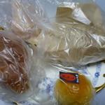 吉備SA(上り) モスカート・ビアンコ - 買ってきたパン