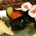 赤玉寿司 - アップで
