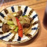 鹿屋アスリート食堂 - レバーと緑黄色野菜のオイスターソース炒め