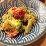 鹿屋アスリート食堂 - ブロッコリーとトマトの胡麻和え