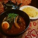 240 - 野菜のスープカレー