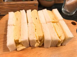 小江戸 オハナ - 貴婦人の卵サンド