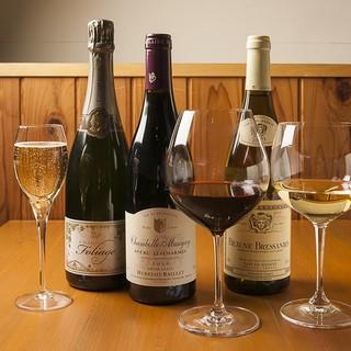 料理と合わせて楽しみたいワイン