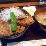 ギン酒場 - 帯広豚丼780円