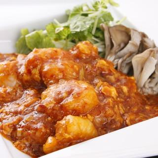 四川料理の数々をお楽しみ下さい