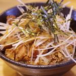 ラーメンニッコウ - 炒豚飯