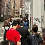 うどん平 - 開店30分前で既にこの行列