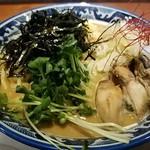 麺や 佐市 - 牡蠣・らぁ麺です 2017.4