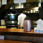 麺や 佐市 - 厨房
