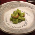 鮨処 修 - 料理写真:木の芽和え