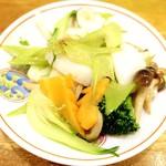 65838752 - 烏賊と季節野菜の炒め!!(o^―^o)ニコ