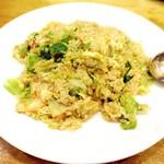 65838804 - 蟹とレタスの炒飯(。・ω・。)ノ♡