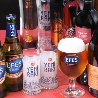 知る人ぞ知る!!トルコのビール&ワインの美味しさ☆