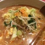 菊翠 - サンラータン麺その2