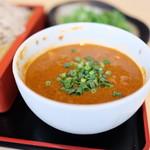 蕎麦処 グレゴリー - スパイス香るカレー汁