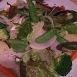 ムスムス - 自然農法色々野菜サラダ