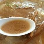 65842509 - みそラーメン【スープ】