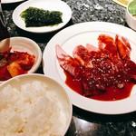 草の家 - 韓国のり・カクテキ・キムチも付きます。