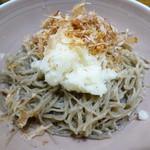 そば処 和 - 料理写真:辛味大根おろし(三日月町そば)