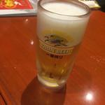 你好 - 生ビール