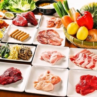 食べ放題コース復活★BBQ食べ放題♪日曜日限定になります。
