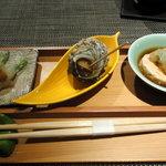 胡楽人 - 前菜3種