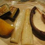 胡楽人 - 焼き野菜