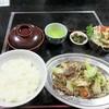 王慶 - 料理写真:たぶん「豚焼定食(800円)」