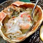 五十八 - コース料理(ズワイガニの甲羅盛り焼き)