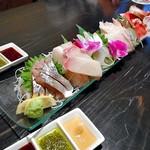 五十八 - コース料理(刺身5点盛り)