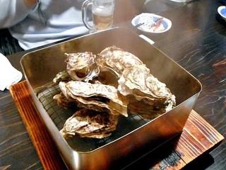 五十八 - コース料理(牡蠣のカンカン蒸し)