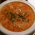 65852994 - トマトと卵のスープ