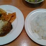 レストラン グリル サクライ - メキシカンチリハンバーグ