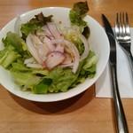 レストラン グリル サクライ - ランチのセットサラダ