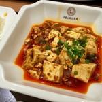 中国大明火鍋城 木の葉キッチン - 山椒がよく効いてる麻婆豆腐です。