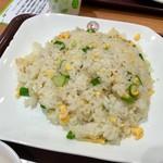 中国大明火鍋城 木の葉キッチン - 小チャーハンのアップ