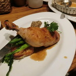 クスクス - 鶏のカリカリ焼