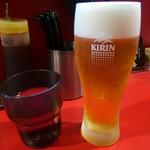 築地 えび金 - 生ビール